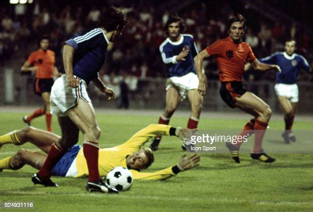 Piet Schrijvers of Holland during the European Championship for the 3rd place between Holland and Yugoslavia in Stadium Maksimir Zagreb Yugoslavia on...
