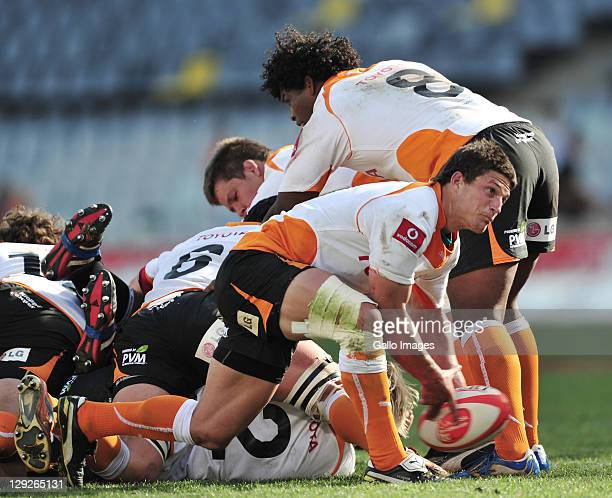 Piet van Zyl of the Toyota Free State Cheetahs during the Absa Currie Cup match between Toyota Free State Cheetahs and GWK Griquas at Free State...