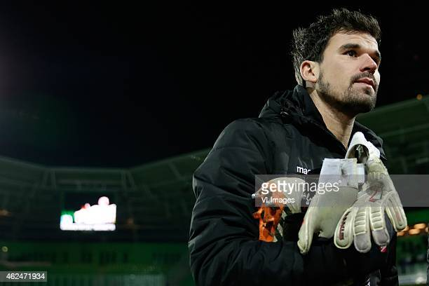 Piet Velthuizen of Vitesse during the Dutch Cup match between FC Groningen and Vitesse Arnhem at Euroborg on January 28 2015 in Groningen The...