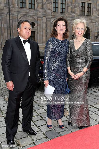 Pieter BogaardtPrincess Caroline of Hanover and Angelika Diekmann attend the AMADE Deutschland Charity dinner on June 14 2016 in Munich Germany