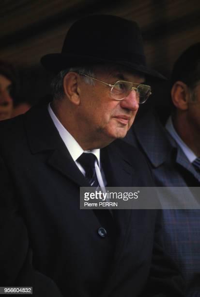 Pieter Botha lors d'une visite en Picardie le 8 juin 1984 France