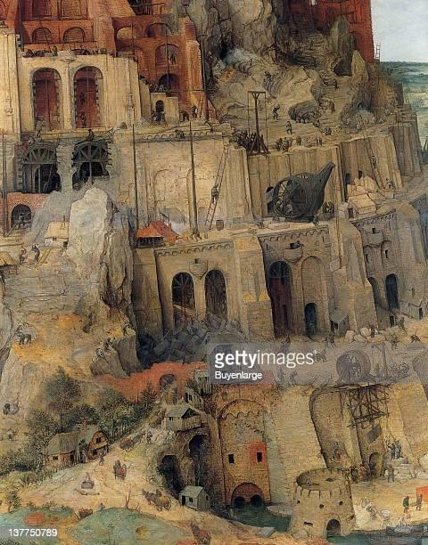 Pieter Brueghel the Elder's Tower of Babel 1563