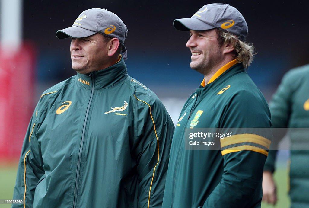 Springboks Training Session