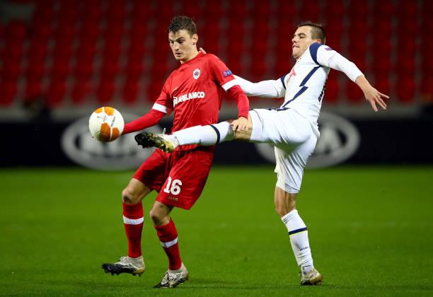 BEL: Royal Antwerp v Tottenham Hotspur: Group J - UEFA Europa League