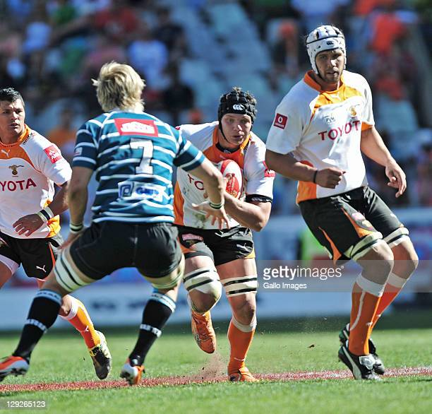 Pieter Labuschagne of the Toyota Free State Cheetahs during the Absa Currie Cup match between Toyota Free State Cheetahs and GWK Griquas at Free...
