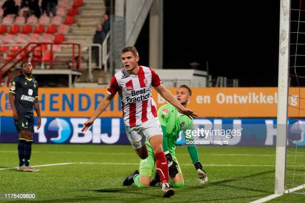 Pieter Langedijk of Top Oss during the Dutch Keuken Kampioen Divisie match between TOP Oss v Telstar at the Frans Heesen Stadium on October 12, 2019...