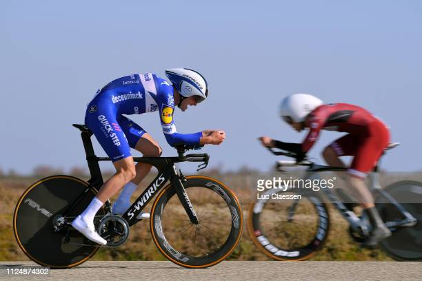 Pieter Serry of Belgium and Team Deceuninck QuickStep / during the 4th Tour de La Provence 2019 Stage 1 a 89km Individual Time Trial stage from Les...