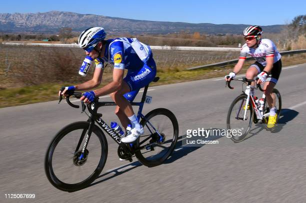 Pieter Serry of Belgium and Team Deceuninck QuickStep / Feed Zone / during the 4th Tour de La Provence 2019 Stage 2 a 1956km race from Istres to La...