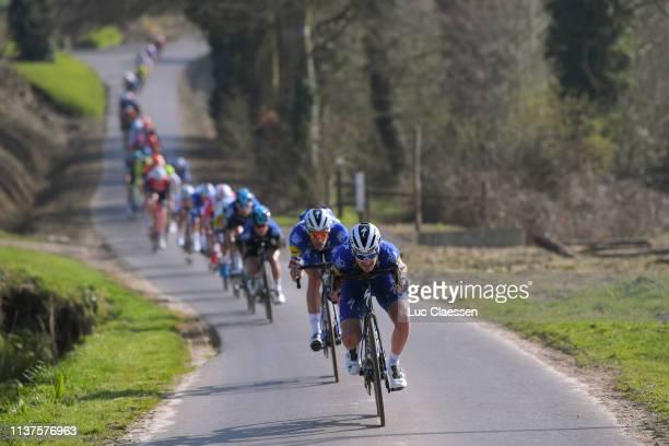 Pieter Serry of Belgium and Team Deceuninck QuickStep / Iljo Keisse of Belgium and Team Deceuninck QuickStep / during the 9th Bredene Koksijde...