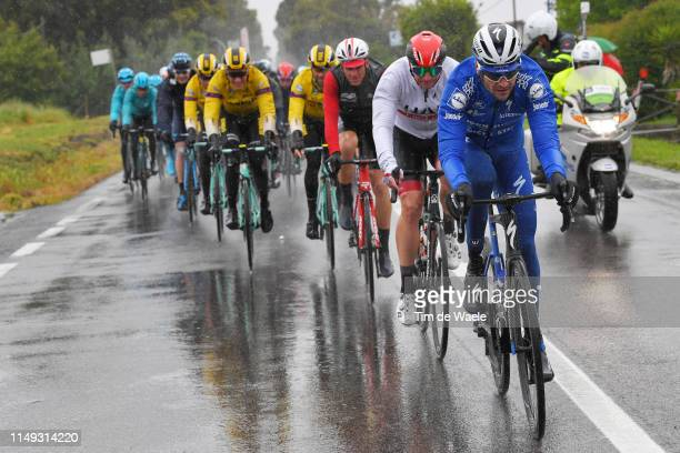 Pieter Serry of Belgium and Team Deceuninck - Quick-Step / Jan Polanc of Slovenia and UAE - Team Emirates / during the 102nd Giro d'Italia 2019,...