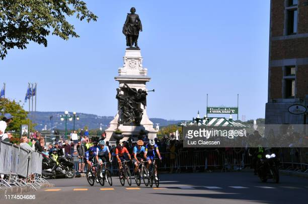 Pieter Serry of Belgium and Team Deceuninck Quick-Step / Nick Zukowsky of Canada and ƒquipe Nationale of Canada / Guillaume Boivin of Canada and Team...
