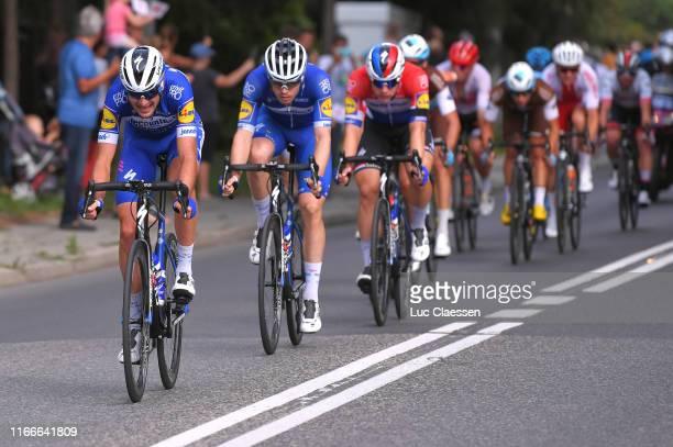 Pieter Serry of Belgium and Team Deceuninck QuickStep / Remi Cavagna of France and Team Deceuninck QuickStep / during the 76th Tour of Poland 2019...
