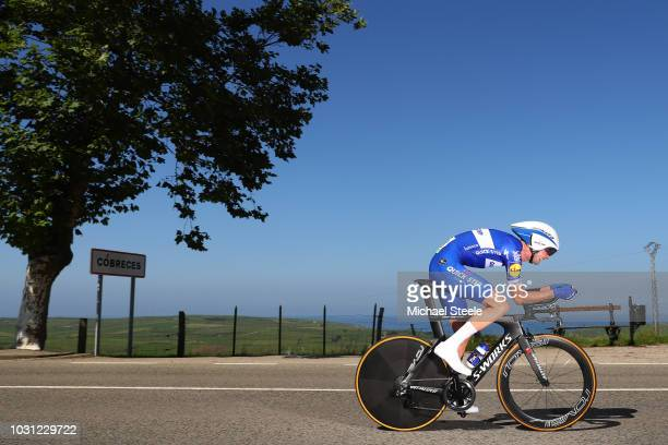 Pieter Serry of Belgium and Team QuickStep Floors / Cobreces Village / Cantabrico sea / during the 73rd Tour of Spain 2018 Stage 16 a 32km Individual...