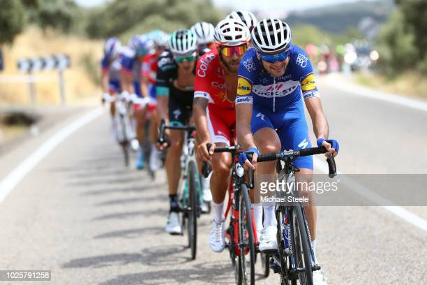 Pieter Serry of Belgium and Team QuickStep Floors / during the 73rd Tour of Spain 2018 / Stage 8 a 1951km stage from Linares to Almaden 550m / La...
