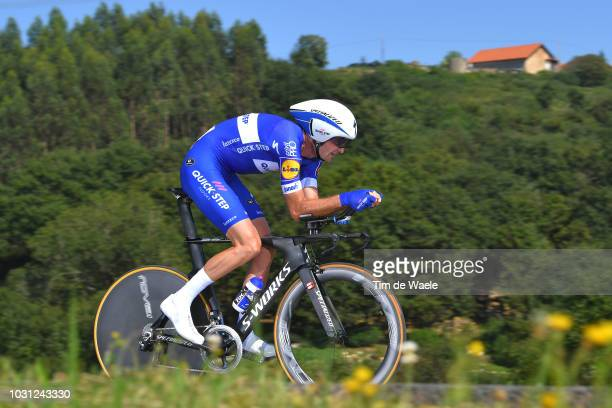 Pieter Serry of Belgium and Team QuickStep Floors / during the 73rd Tour of Spain 2018 Stage 16 a 32km Individual Time Trial stage from Santillana...