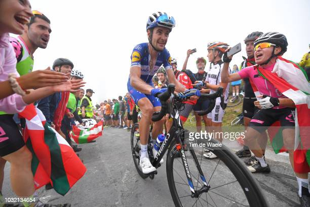 Pieter Serry of Belgium and Team QuickStep Floors / Fans / Public / during the 73rd Tour of Spain 2018 Stage 17 a 157km stage from Getxo to Alto del...
