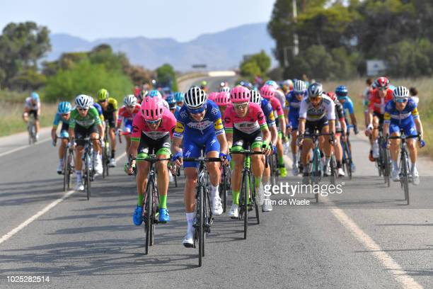 Pieter Serry of Belgium and Team QuickStep Floors / Peloton / during the 73rd Tour of Spain 2018 Stage 6 a 1557km stage from HuercalOvera to San...