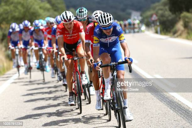 Pieter Serry of Belgium and Team QuickStep Floors / Peloton / during the 73rd Tour of Spain 2018 / Stage 8 a 1951km stage from Linares to Almaden...