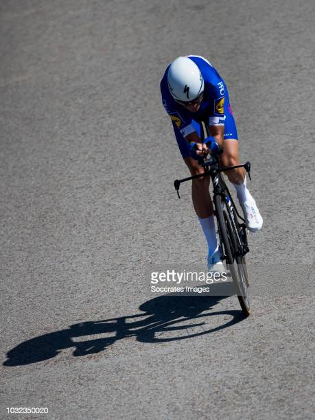 Pieter Serry of Quick Step Floors during the Vuelta on September 11 2018