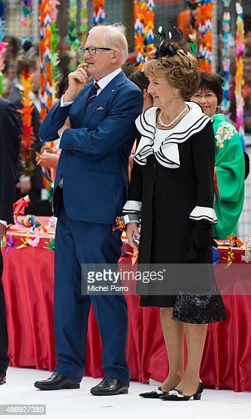 Pieter van Vollenhoven and Princess Margriet of The Netherlands attend King's Day on April 26 2014 in Amstelveen Netherlands