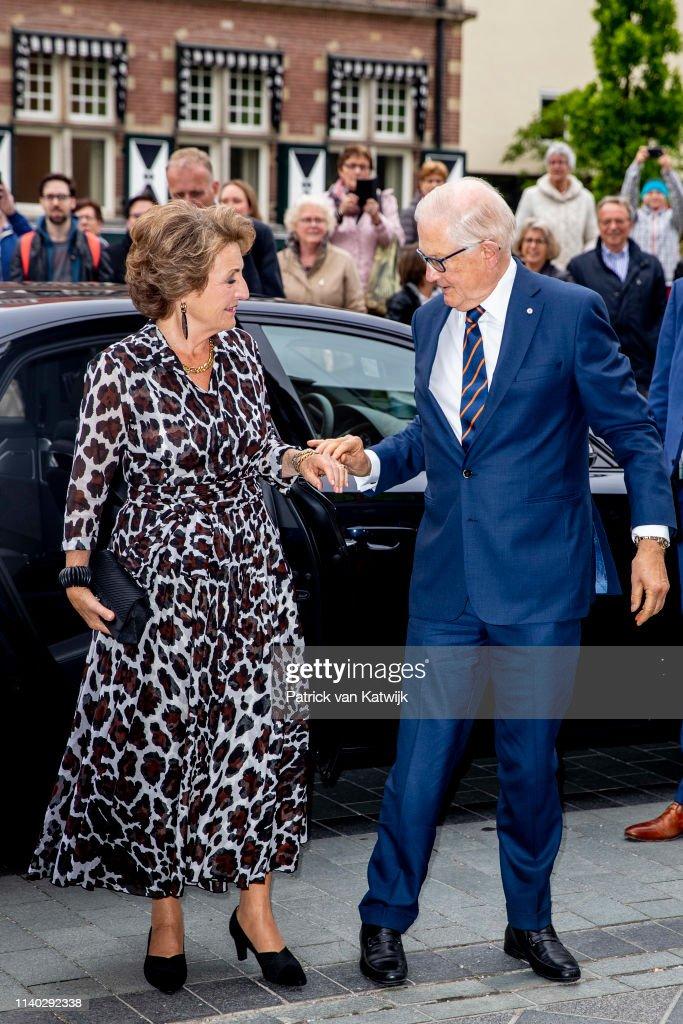 Dutch Royal Family Celebrates Pieter van Vollenhoven's 80th Birthday In Apeldoorn : Nieuwsfoto's