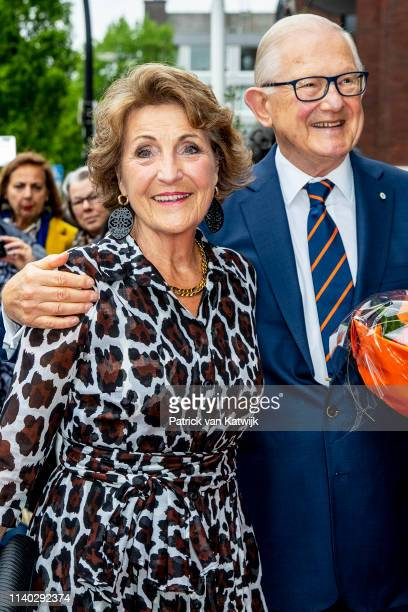 Pieter van Vollenhoven and Princess Margriet of The Netherlands attends the 80th birthday celebrations for Pieter van Vollenhoven on April 30 2019 in...