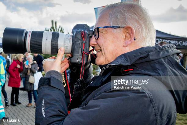 Pieter van Vollenhoven of The Netherlands at the Hollandse 100 fund raise event Organized by Lymph & Co at Flevonice in Biddinghuizen, The...