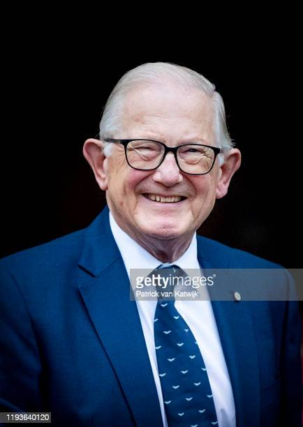 Pieter van Vollenhoven of The Netherlands attends the New Year Reception in the Royal Palace on January 14 2020 in Amsterdam Netherlands