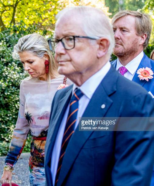 Pieter van Vollenhoven Queen Maxima of The Netherlands and King WillemAlexander of The Netherlands attend the funeral of Princess Christina at the...