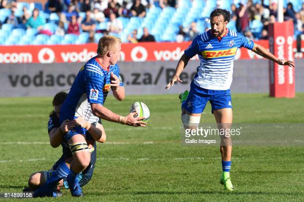 PieterSteph du Toit of Stormers during the Super Rugby match between Vodacom Bulls and DHL Stormers at Loftus Versfeld on July 15 2017 in Pretoria...