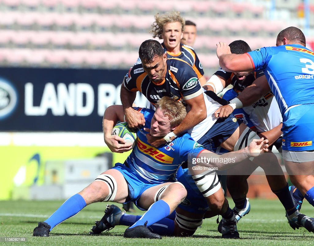 Super Rugby Rd 10 - Stormers v Brumbies : News Photo