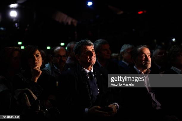 Pietro Bartolo doctor of Lampedusa takes part at the national political meeting 'For a new proposal' promoted by Italian left parties that launches...
