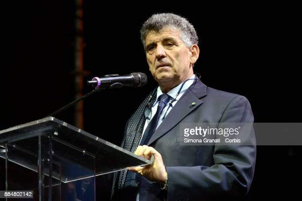 Pietro Bartolo the doctor of Lampedusa during the assembly of the Left that launches the unitary List of Liberi e Uguali on December 3 2017 in Rome...