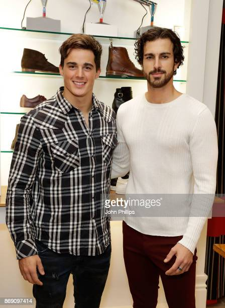 Pietro Boselli and Clint Mauro attend an intimate evening hosted by Paul Smith The Gentleman's Journal to introduce the Paul Smith Bespoke By...