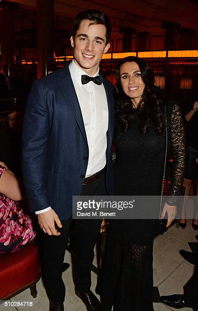 Pietro Boselli and guest attend The Weinstein Company Entertainment Film Distributors Studiocanal 2016 BAFTA After Party in partnership with BVLGARI...