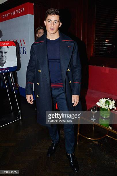 Pietro Boselli at Tommy Hilfiger Celebrates the Launch of His Memoir 'American Dreamer My Life in Fashion Business' at The Clocktower on November 1...