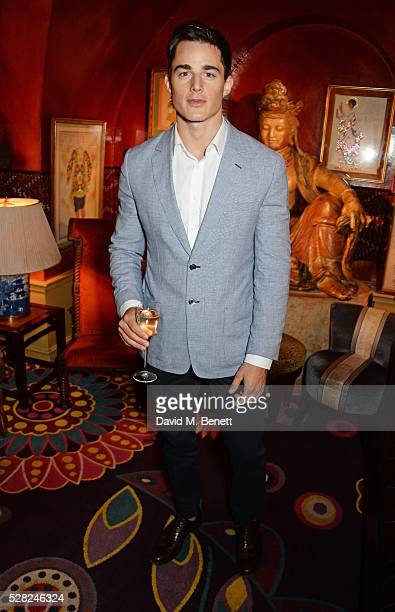 Pietro Boselli attends an intimate performance by All Saints at Annabel's on May 4 2016 in London England