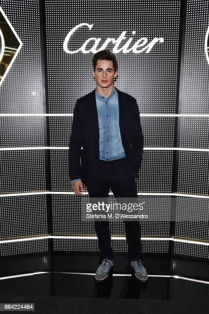 Pietro Boselli attends Cartier Garage Cocktail Party during Milan Design Week 2017 on April 3 2017 in Milan Italy