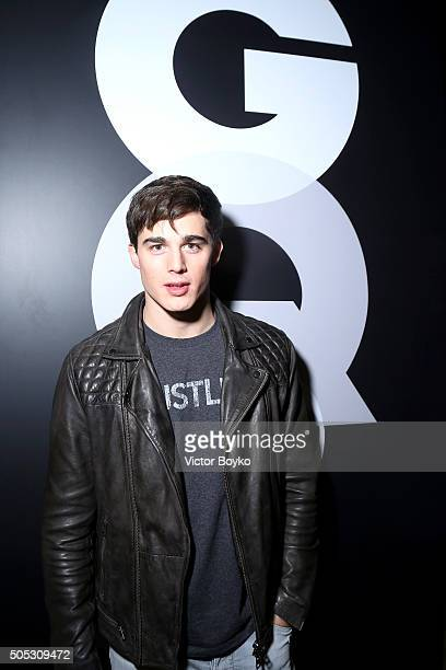 Pietro Boselli attends GQ's Celebration of GQ Style EditorInChief Will Welch during Milan Men's Fashion Week Fall/Winter 2016/2017 on January 16 2016...