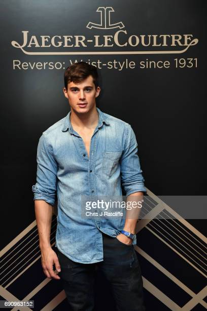 Pietro Boselli attends JaegerLeCoultre Christie's 'Roaring 20's Reverso 30's' Party at Christie's South Kensington on May 31 2017 in London England