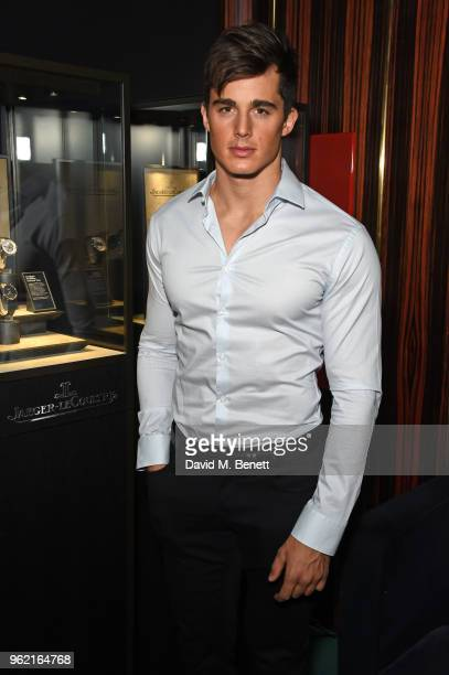 Pietro Boselli attends the launch of the JaegerLeCoultre Polaris collection at Isabel's Mayfair on May 24 2018 in London England