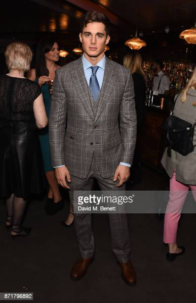 Pietro Boselli attends the MTV Staying Alive gala at 100 Wardour St on November 8 2017 in London England