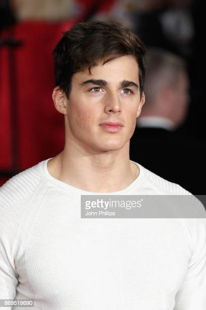 Pietro Boselli attends the 'Murder On The Orient Express' World Premiere at Royal Albert Hall on November 2 2017 in London England