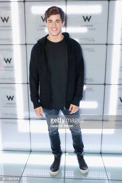 Pietro Boselli attends the official launch of The Perception at The W Hotel on November 7 2017 in London England