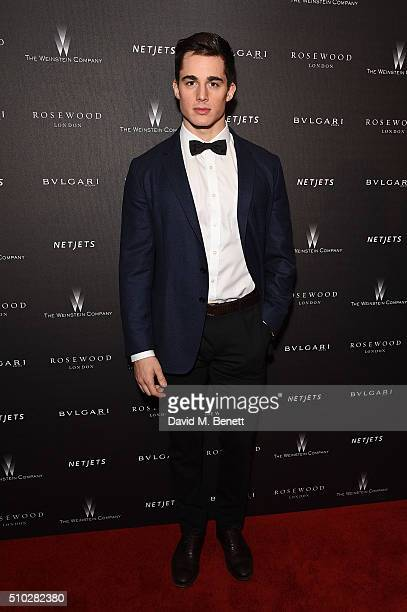 Pietro Boselli attends The Weinstein Company Entertainment Film Distributors Studiocanal 2016 BAFTA After Party in partnership with BULGARI GREY...