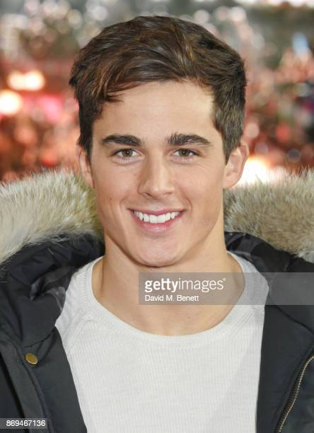 Pietro Boselli attends the World Premiere of 'Murder On The Orient Express' at The Royal Albert Hall on November 2 2017 in London England