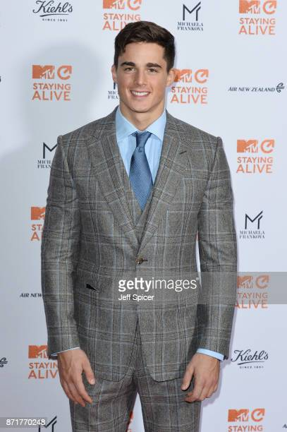 Pietro Boselli during the 'MTV Staying Alive' gala at 100 Wardour Street on November 8 2017 in London England