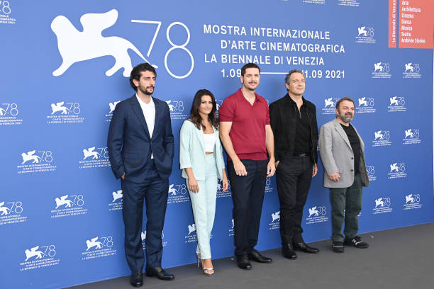 """ITA: """"Freaks Out"""" Photocall - The 78th Venice International Film Festival"""
