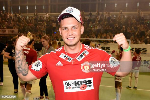 Pietro Lombardi attends the KISS CUP 2017 at Max Schmeling Halle on June 23 2017 in Berlin Germany