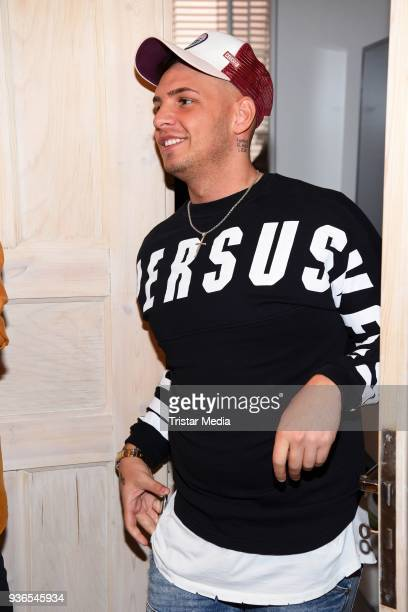 Pietro Lombardi during the Milka Osterbrunch at Studio Lassen on March 22, 2018 in Hamburg, Germany.